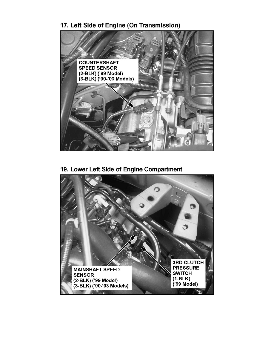 Acura Honda Workshop Manuals TL TYPE S VL SOHC - 2002 acura tl type s transmission