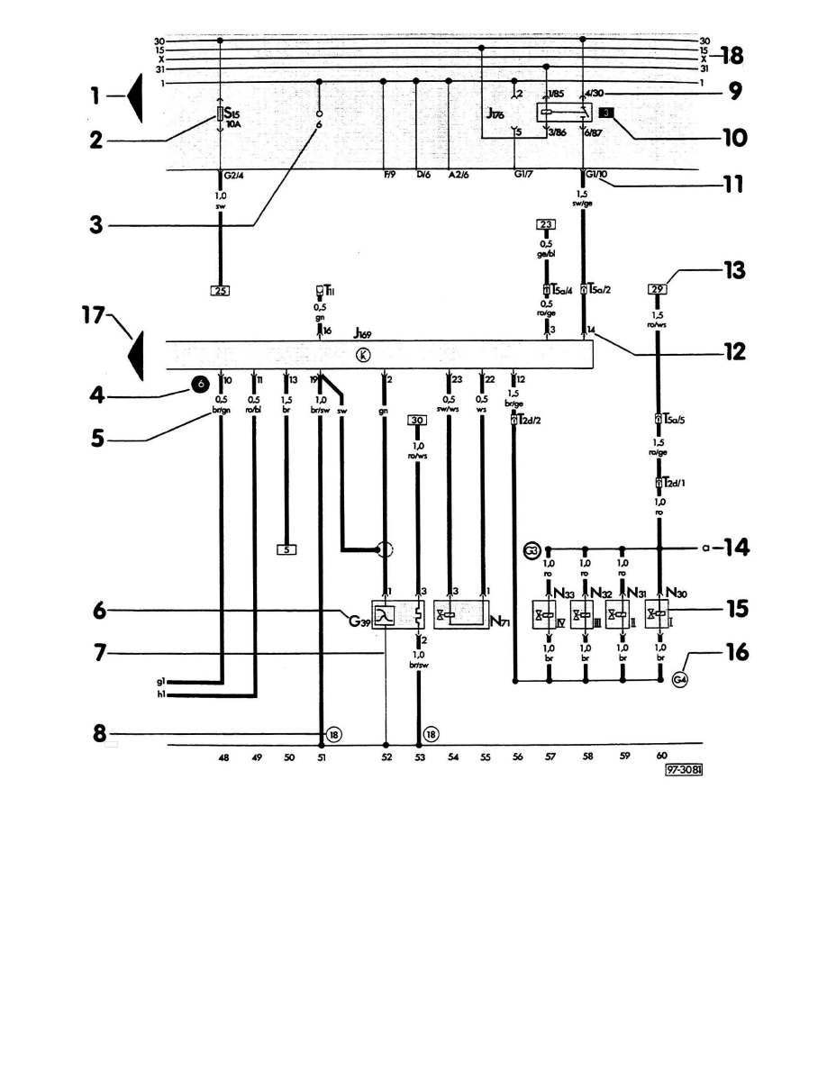 wiring diagrams audi 100  audi  auto wiring diagram