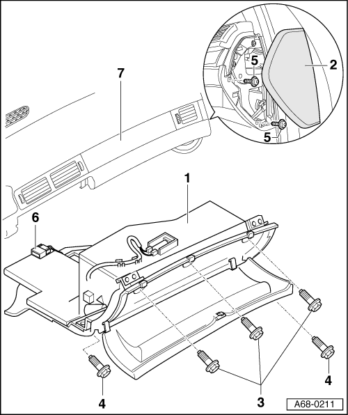 Audi Workshop Manuals A2 Body Fitting Instructions