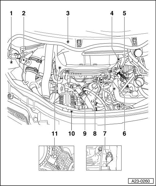 Audi Workshop Manuals A2 Power Unit Tdi Injection And Glow