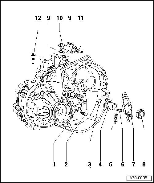 audi workshop manuals u003e a2 u003e power transmission u003e 5 speed manual rh workshop manuals com