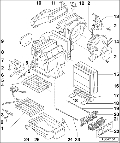 Diagram Of Hvac