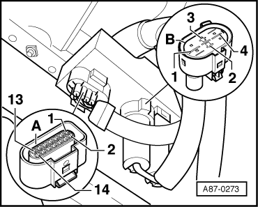 Electrical check at control unit  J293  version for high Pressure sensor  G65 on fan clutch wiring diagram