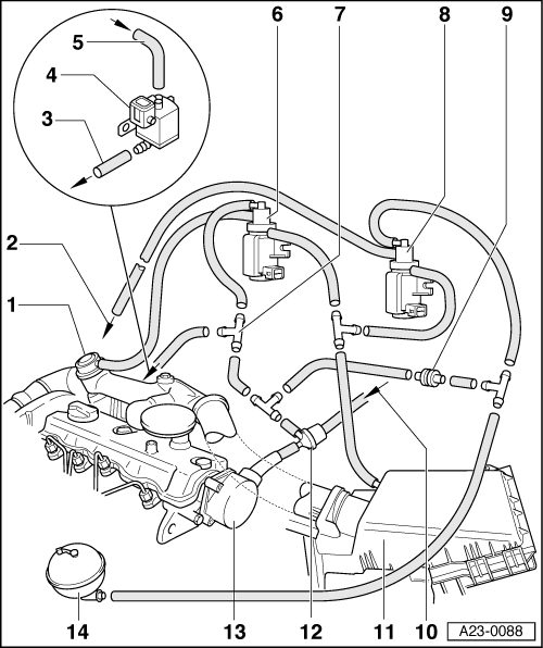2000 vw tdi vacuum line diagram  2000  free engine image