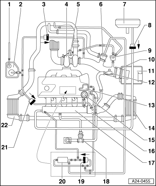 Audi Engine Schematics A B Engine Diagram Audi Wiring Diagrams