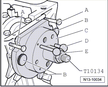 Removing engine vehicles with front Wheel drive with engine codes bmn buy further Adjusting vacuum unit for turbocharger in addition Checking charge pressure control solenoid valve n75 additionally Removing and installing injectors also Removing. on audi a3 cylinder engine