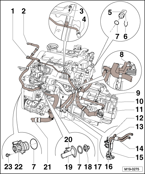 2001 Nissan Quest Egr Valve Location furthermore Connection diagram for coolant hoses engine code cbea also V2203 Kubota Engine Diagram in addition Bajar Volumen Al Poner Marcha Atras T6940 additionally 1 9 Tdi Engine  partment Diagram. on tdi wiring diagram