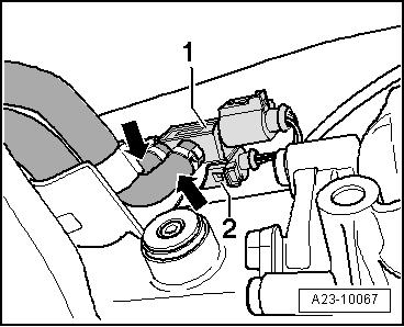 Toothed belt for high Pressure pump exploded view further Overview of fitting locations furthermore Removing and installing intake manifold in addition Rail Pressure Sensor also Vw Golf Engine Diagram. on audi a4 fuel rail