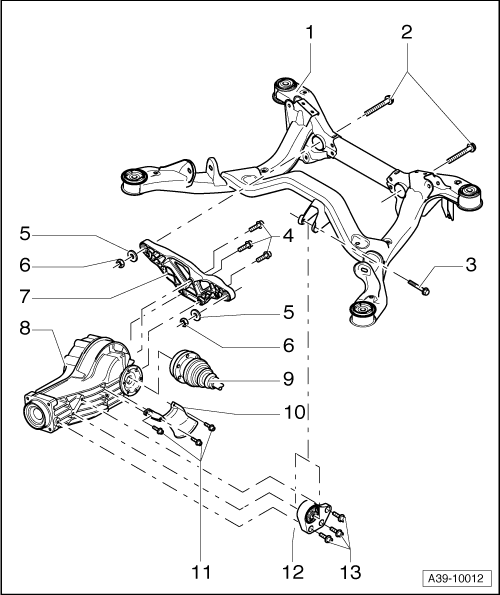 service manual  exploded view 2002 audi a6 manual