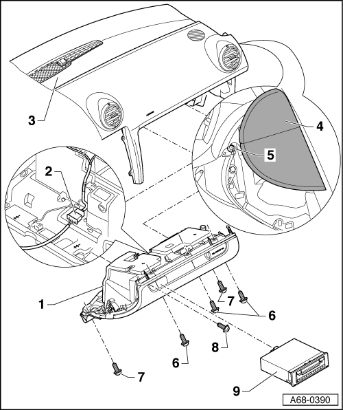 audi workshop manuals  u0026gt  a4 cabriolet mk2  u0026gt  body  u0026gt  fitting instructions  retrofitting key
