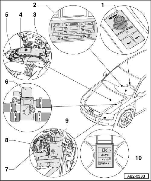 Audi Workshop Manuals: Heat Pump With Aux Wiring Diagram At Johnprice.co
