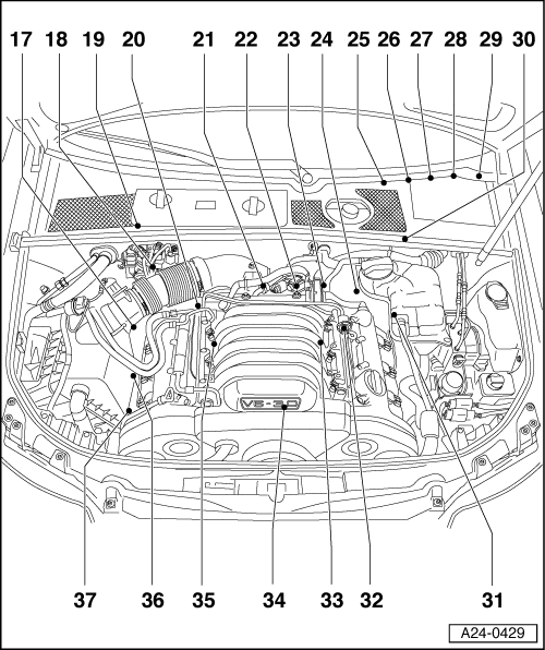 2005 audi a4 cabriolet engine diagram