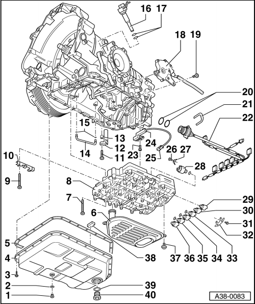 1995 Audi Riolet Repair Line From A The Transmission To The Radiator Transmission on 2008 Town And Country Transmission Shift Cable