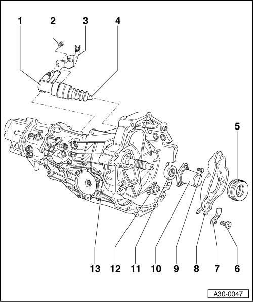 Audi 01e Transmission Diagrams