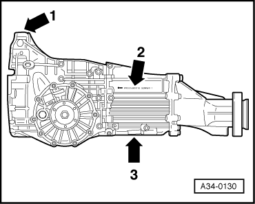 Gearbox identification on transmission
