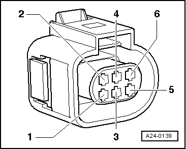 Audi Body Parts Catalog Html additionally 1968 Vw Engine Number additionally Saab Throttle Body together with Check brake light switch  F and brake pedal switch  F47 besides Checking angle sensor for throttle valve actuator. on vw accelerator wiring harness