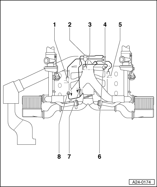 Fuel Pressure Regulator Vacuum Line Diagram