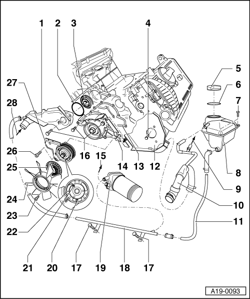 Audi Workshop Manuals A4 Mk1 Power Unit 6 Cylinder Engine 5