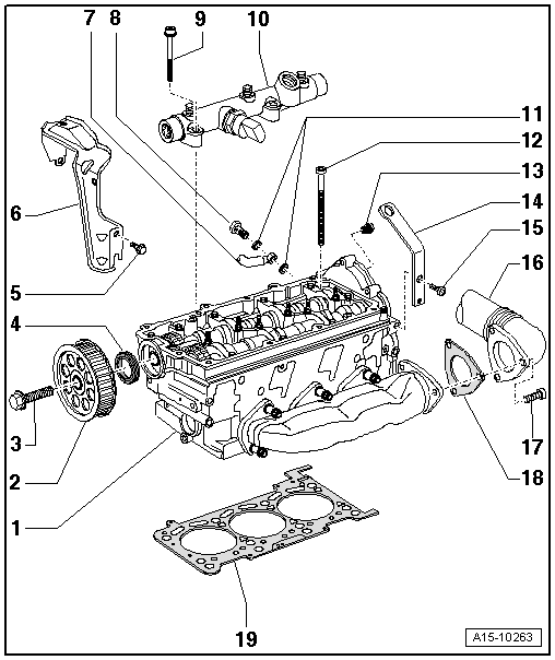 Engine Head Diagram