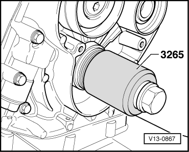 Removing_and_installing_sealing_flange_(front)