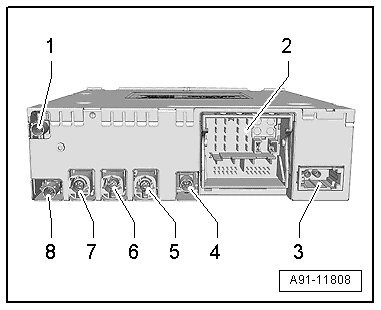 Mmi maximum equipment on volkswagen radio diagram