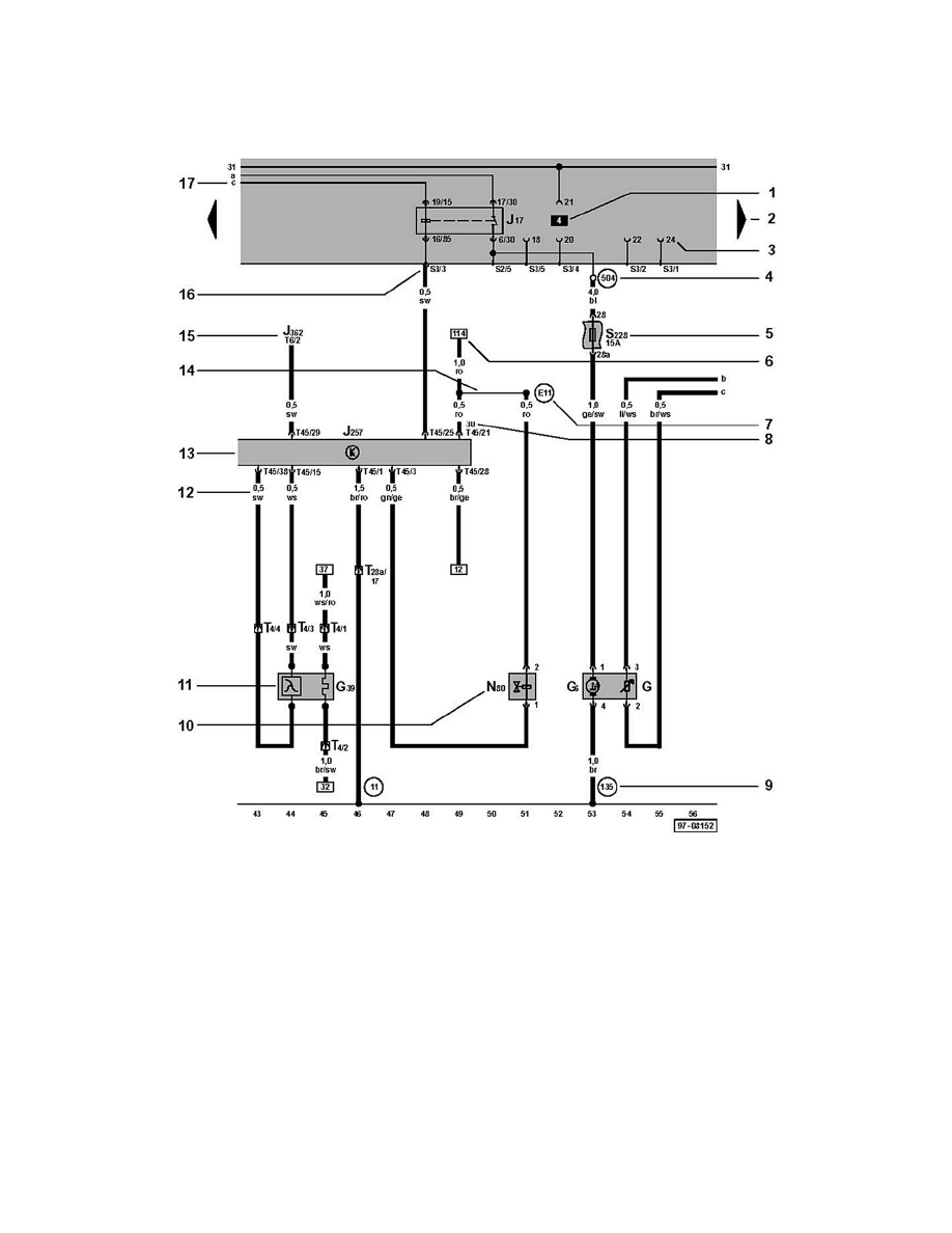 Powertrain Management > Ignition System > Sensors and Switches - Ignition  System > Camshaft Position Sensor > Component Information > Diagrams >  Diagram ...