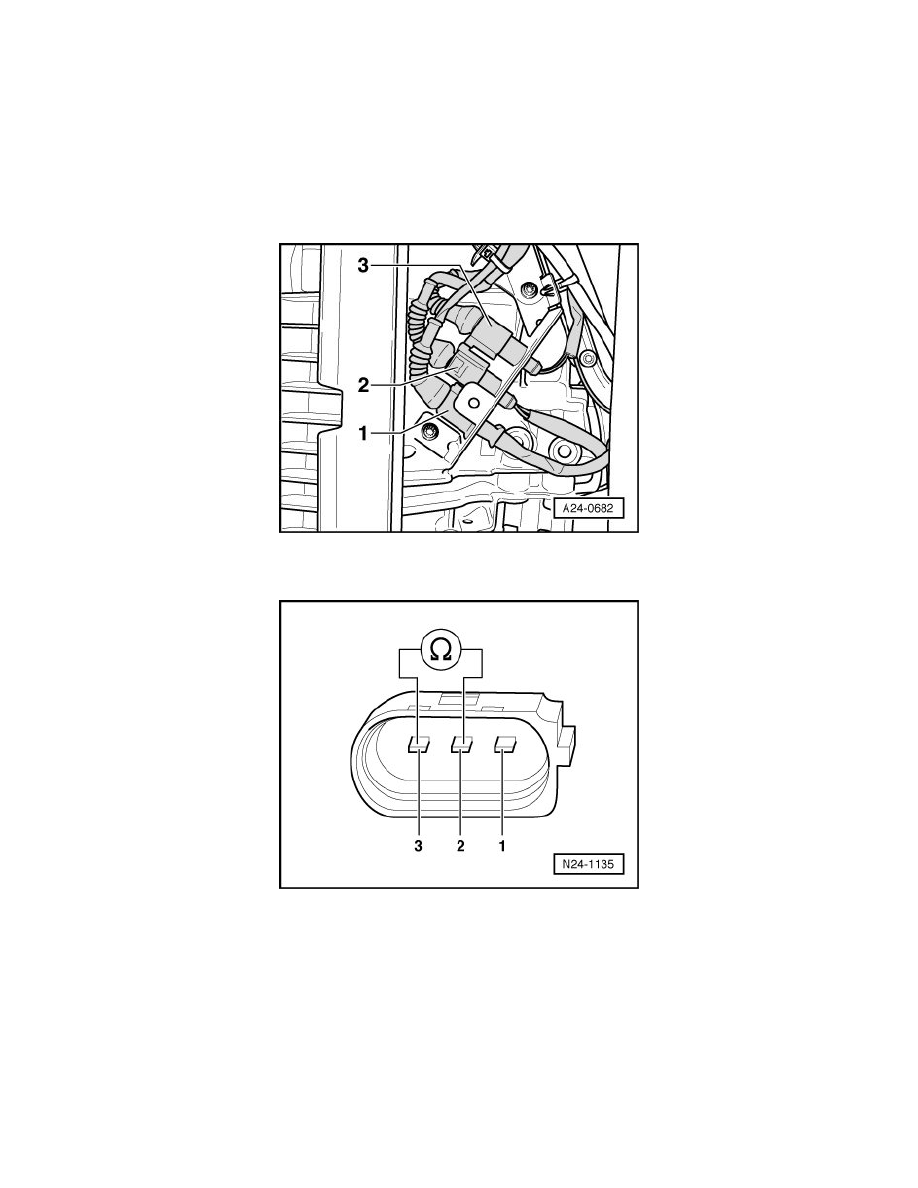 Audi Workshop Manuals A8 Quattro Sedan V8 42l Bfm 2005 Engine Diagram Switches Powertrain Management Sensors And Computers Control Systems Speed Sensor Component Information Diagrams Page