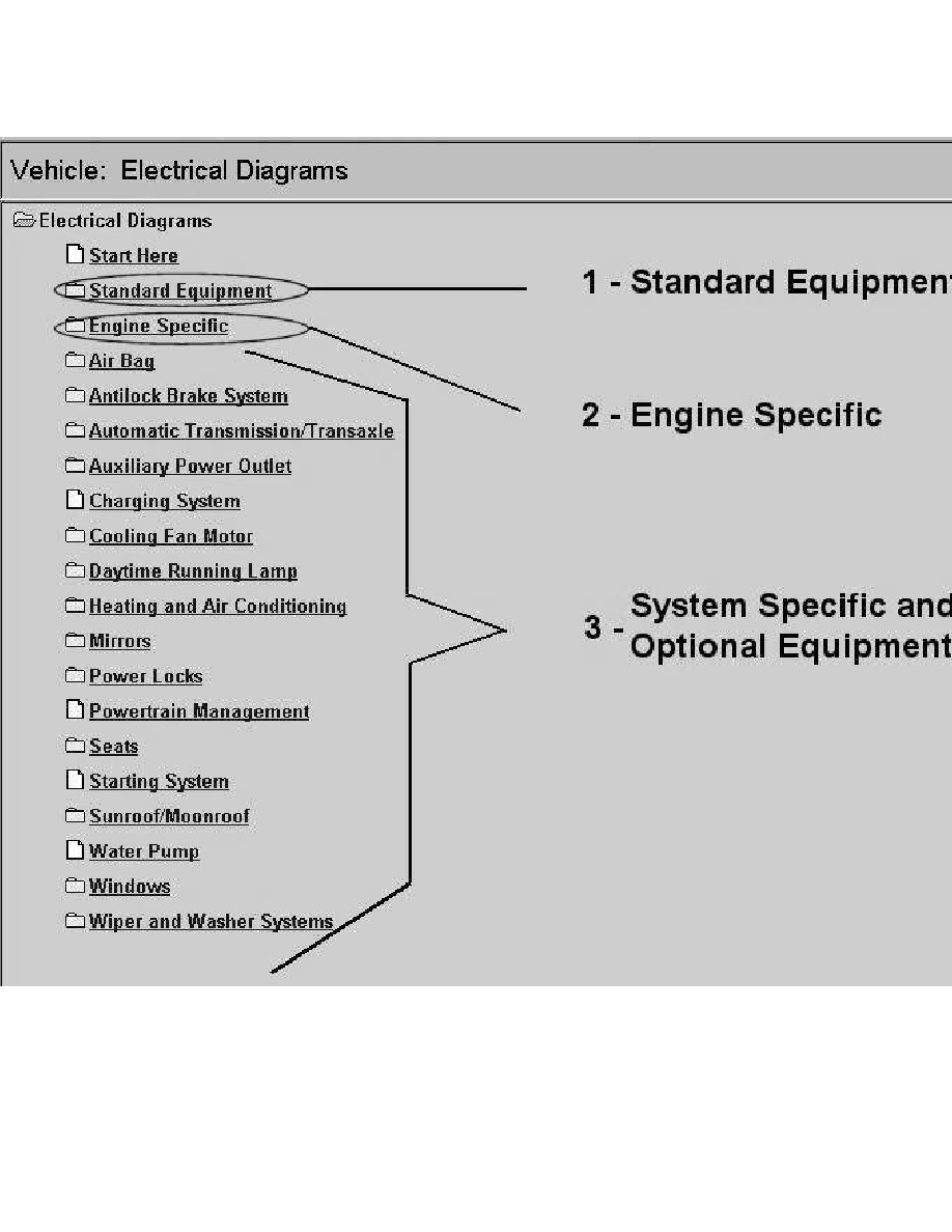 Steering and Suspension > Steering > Steering Wheel > Component Information  > Diagrams > Diagram Information and Instructions > How to Find Wiring  Diagrams