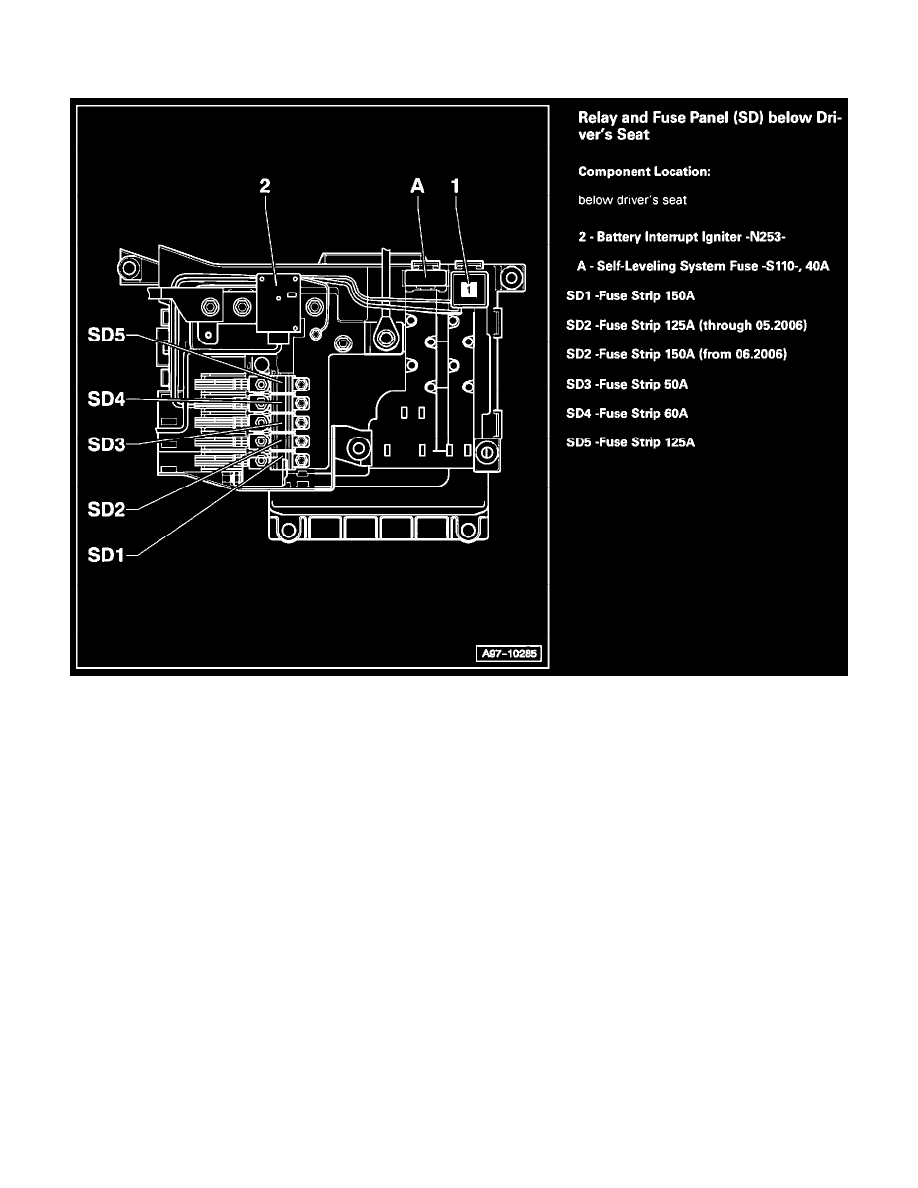 Page 156001 audi workshop manuals \u003e q7 quattro v8 4 2l (bar) (2008) \u003e relays Circuit Breaker Box at n-0.co