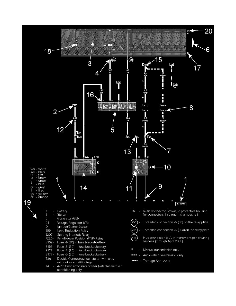 Audi Workshop Manuals > RS 6 V8-4.2L Turbo (BCY) (2003) > Engine, Cooling  and Exhaust > Engine > Timing Components > Variable Valve Timing > Variable  Valve Timing Actuator > Component Information > | Audi Rs6 Wiring Diagram |  | Workshop Manuals