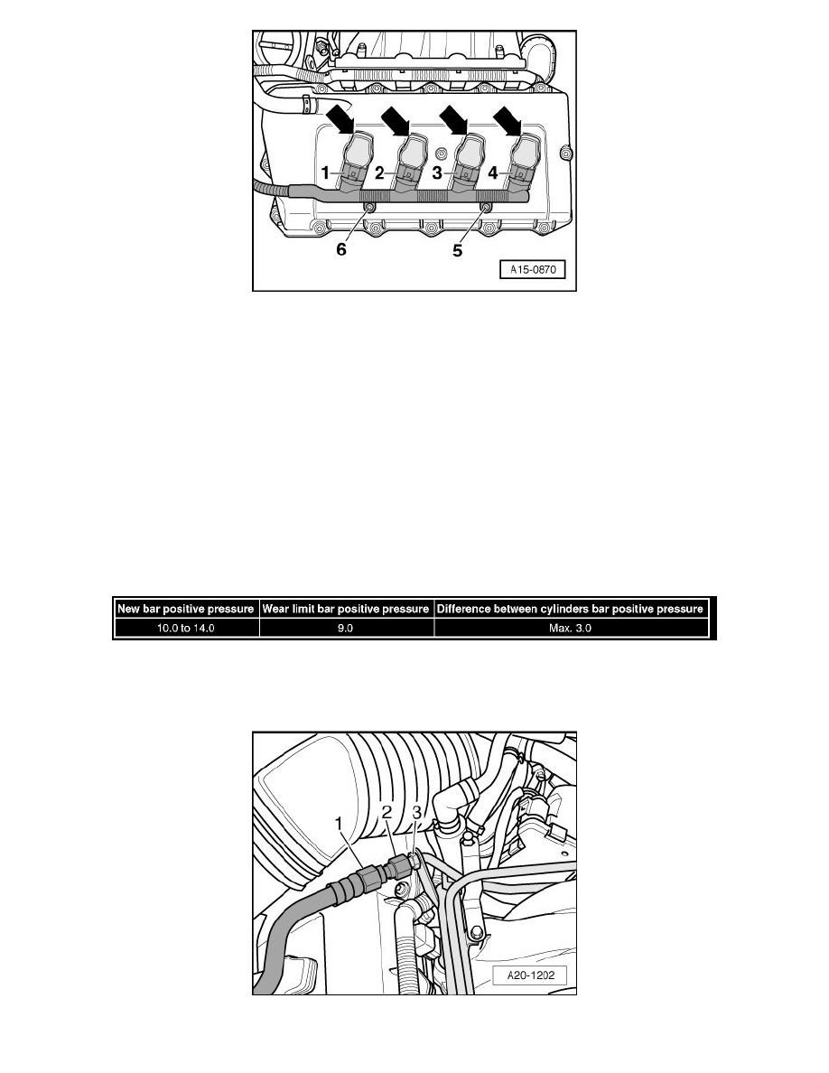 Audi Workshop Manuals S4 Quattro Wagon V8 42l Bhf 2008 Compression Test Engine Diagram Cooling And Exhaust Check System Information Specifications Page 2030