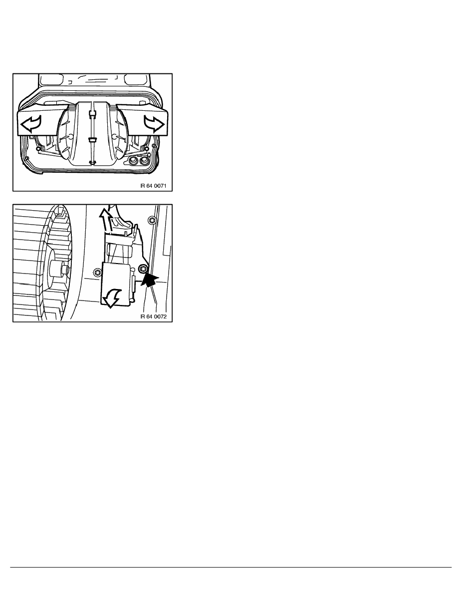 2 Repair Instructions > 64 Heating And Air Conditioning > 11 Heater With  Operation > 11 RA Replacing Resistor For Heater - A_C Fan (compact)