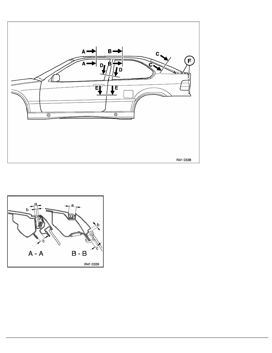 2 Repair Instructions > 41 Body (COMP) > 0 Body > 48 RA Window And Door  Seams On E36 Compact
