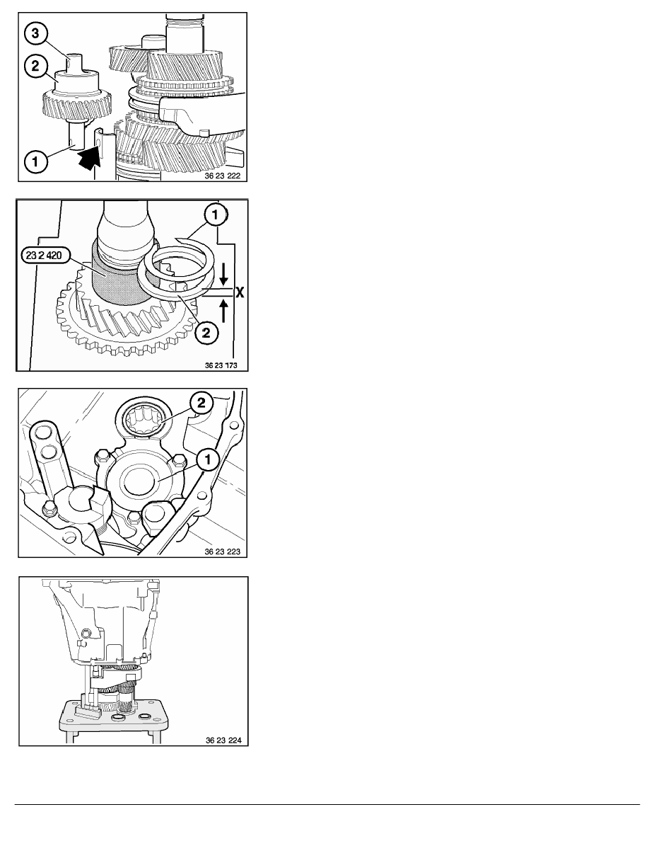 2 Repair Instructions > 23 Manual Transmission (MECH) > 21 Transmission  Shafts > 7 RA Complete Removal And Installation Of Input And Output Shafts  (S5D ...