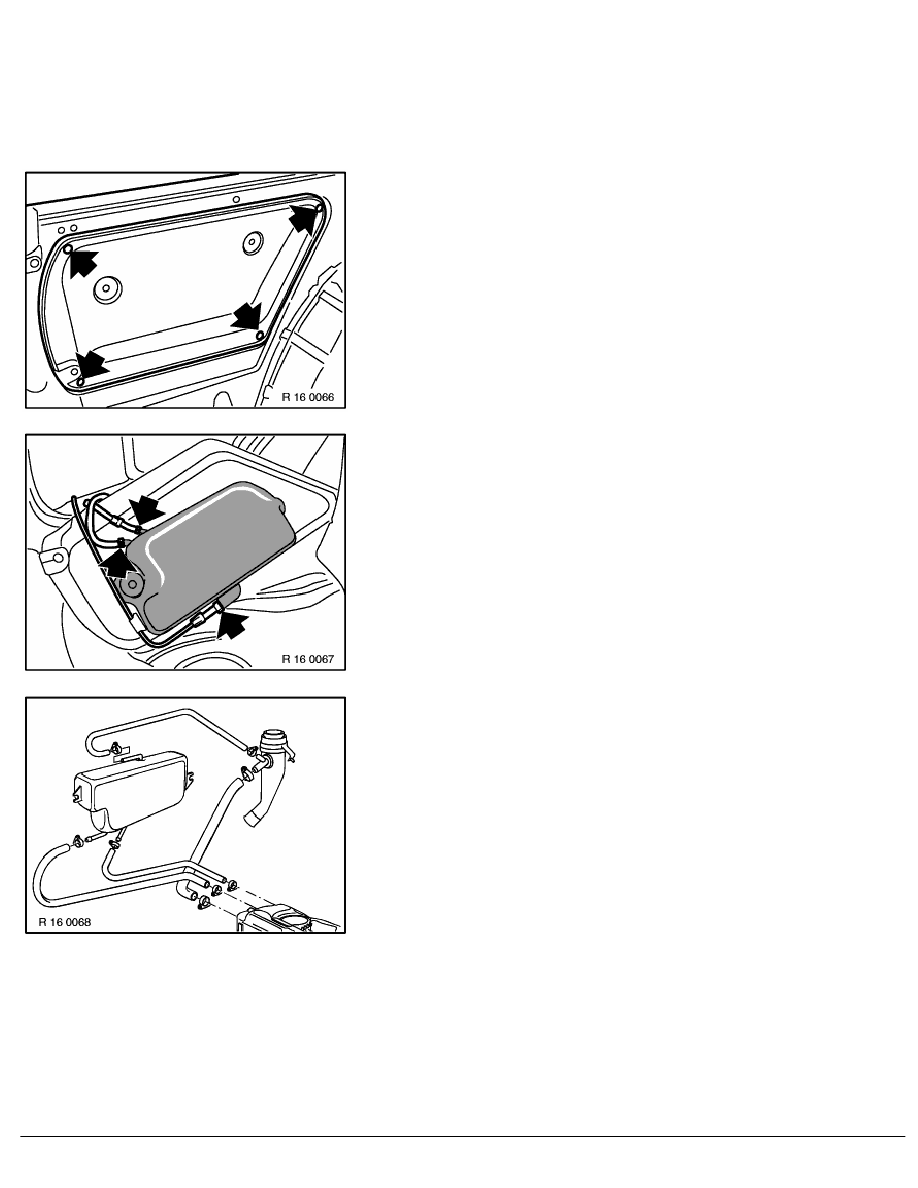 2 Repair Instructions > 16 Fuel Supply System (M44) > 11 Fuel Tank With  Mounting > 4 RA Removing And Installing_replacing Expansion Tank For Tank  ...