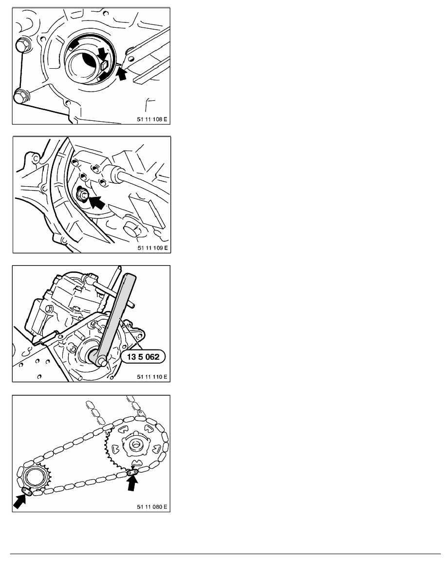 2 Repair Instructions > 11 Engine (M51) > 31 Camshaft > 3 RA Replacing Both  Timing Chains (M51) > Page 505
