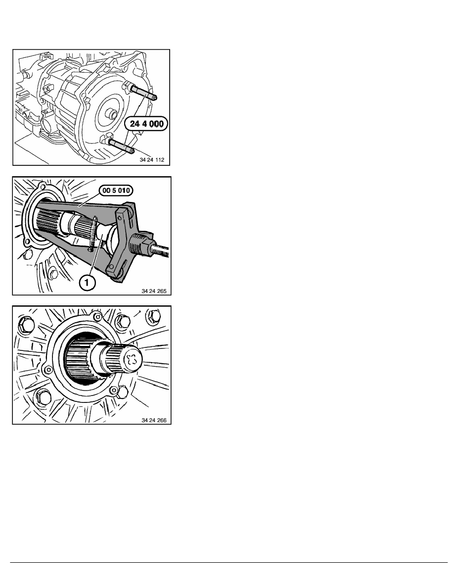 2 Repair Instructions > 24 Automatic Transmission (AUT) > 12 Torque  Converter Bearing, Seal > 5 RA Replacing Radial Seal For Torque Converter -  Transmission ...