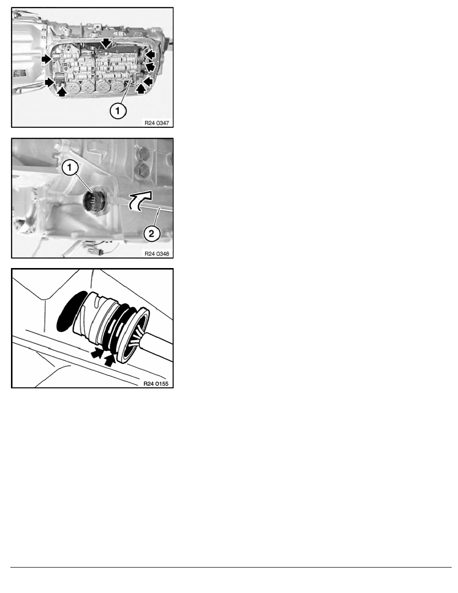 Bmw Workshop Manuals 5 Series E39 530d M57 Sal 2 Repair 528i Wire Harness Replacement Instructions 24 Automatic Transmission Aut 35 Wiring Shift Elements And Senso 6 Ra Replacing In
