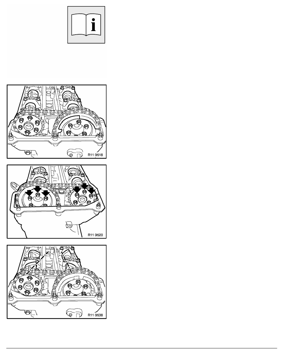2 Repair Instructions > 11 Engine (M62) > 12 Cylinder Head With Cover > 7  RA Removing And Installing Right Cylinder Head (M62 Up To 9_98) > Page 598