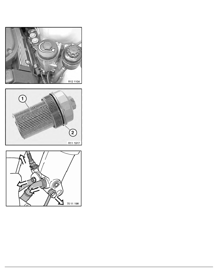 E39 Engine Diagram Oil Renault Clio Wiring Electrolux Vacuum M62 540i Tour 2 Repair Page 347001 1 Ra Completely Removing And Installing Sealing Replacing Main Flow Filter