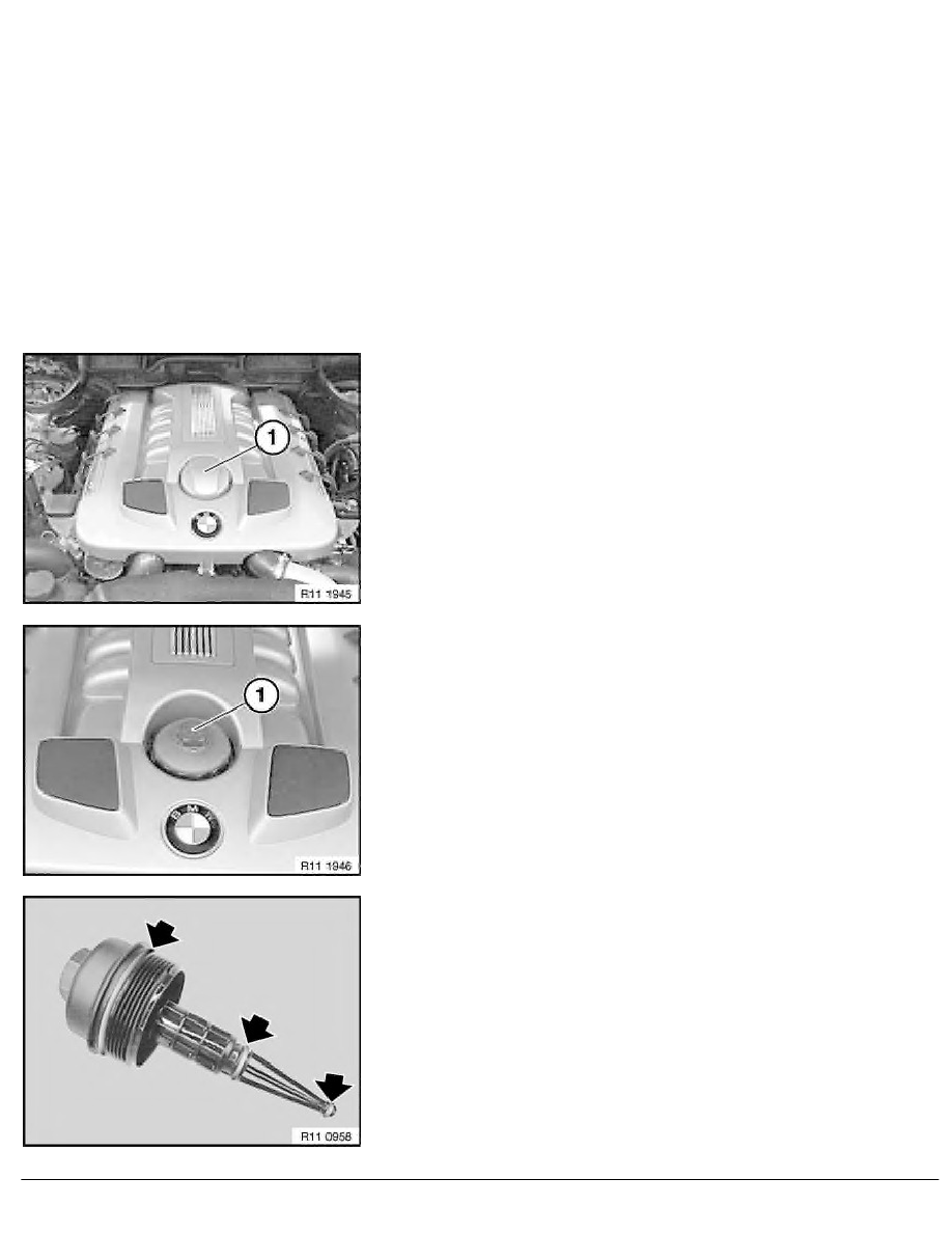2 Repair Instructions > 11 Engine (M67) > 0 Engine, General > 4 RA BMW  Engine Oil Service Incl