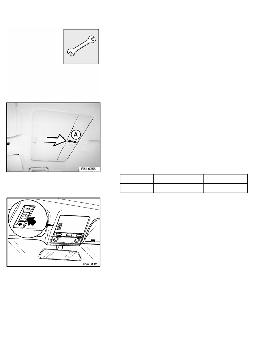 2001 bmw 7 series sunroof switch repair instructions