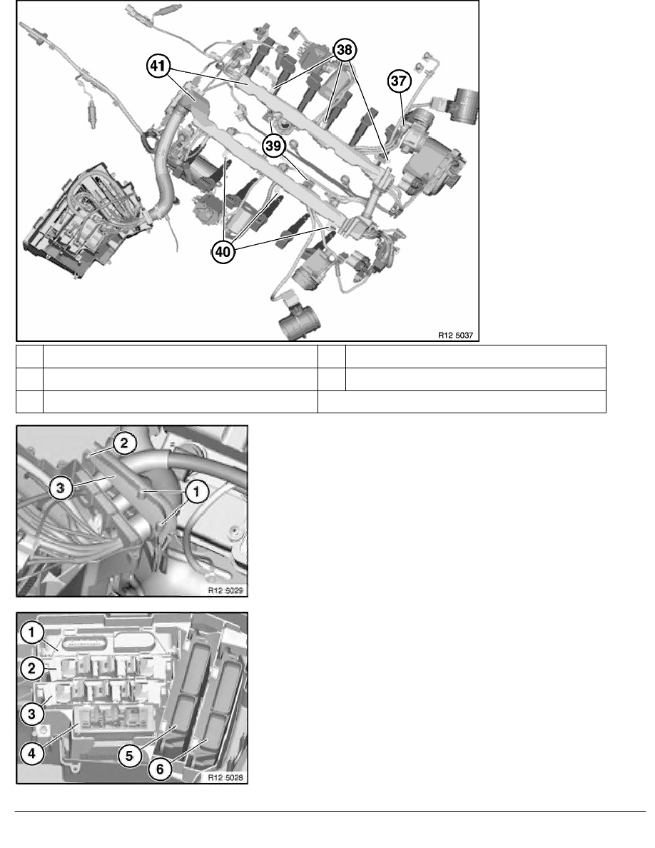 2 Repair Instructions > 12 Engine Electrical System (N73) > 51 Engine  Wiring Loom > 1 RA Replacing Wiring Harness Section For Engine (N73) > Page  600