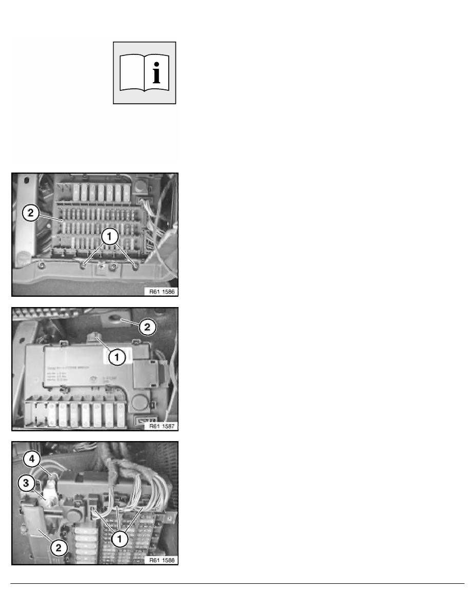 2 Repair Instructions > 61 General Electrical System > 13 Plug Connection,  Terminal, Fuse Box > 24 RA Replacing Fuse Box For Distribution Box