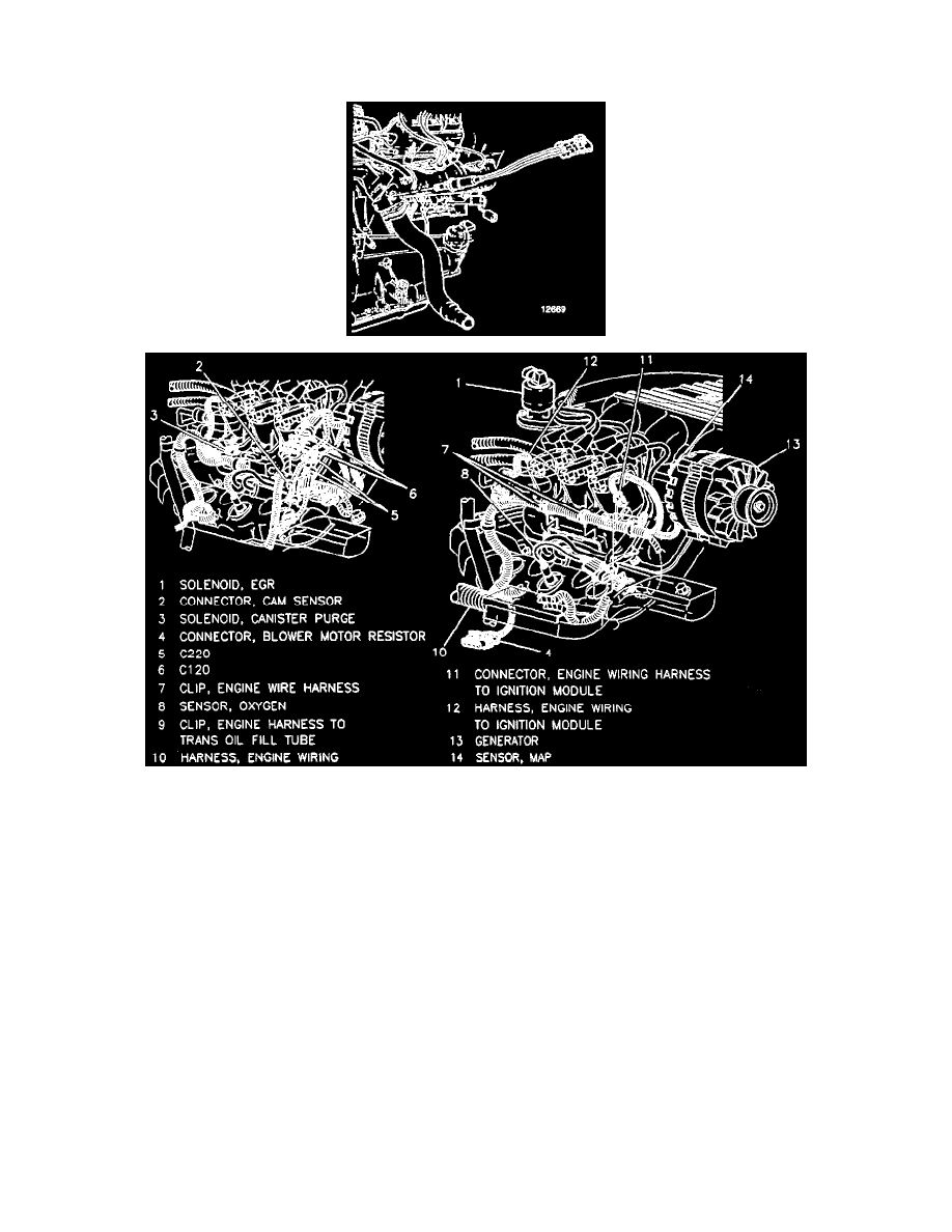 Buick Workshop Manuals Skylark V6 3100 31l Vin M Sfi 1996 Wiring Harness Background Image