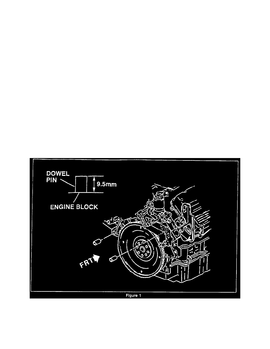 Transmission and Drivetrain > Flex Plate > Component Information >  Technical Service Bulletins > Engine - Noise From the Flywheel Area