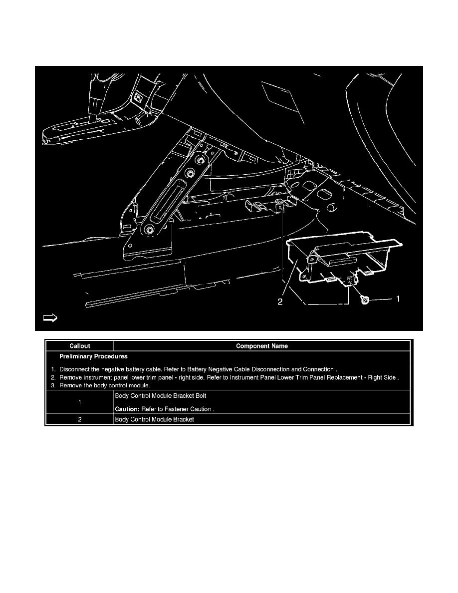 Chevrolet Cruze Repair Manual: Instrument Panel Lower Trim Panel Replacement - Right Side