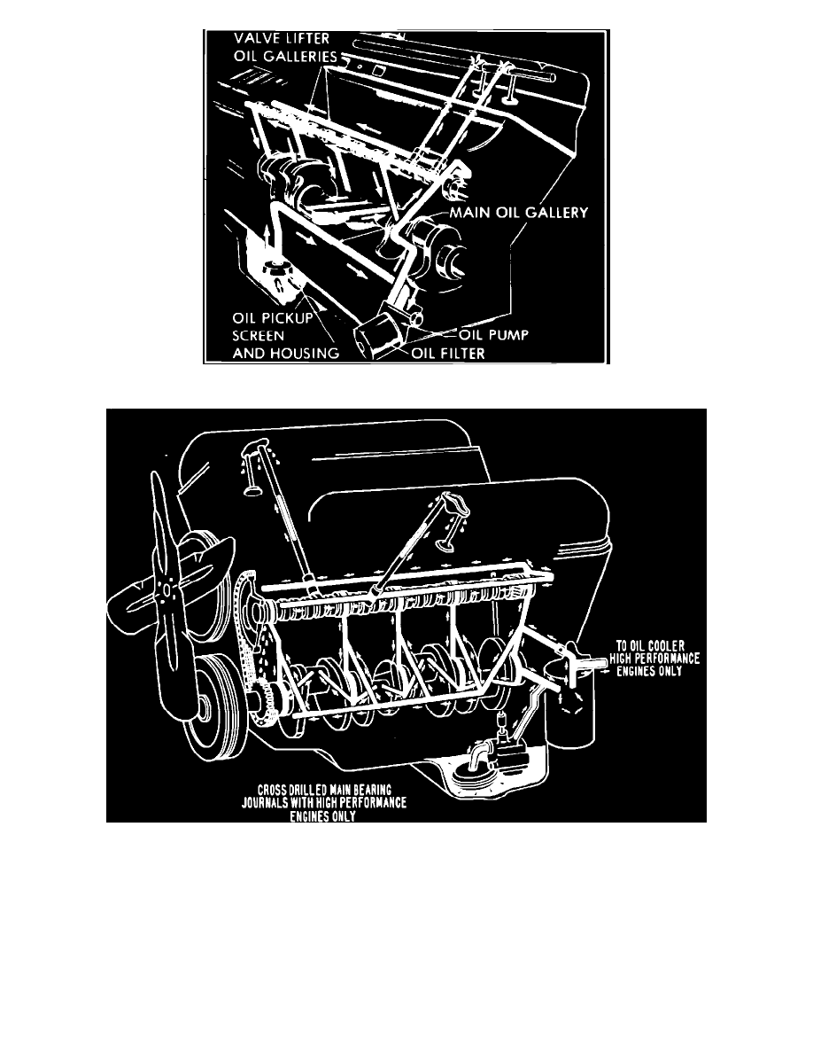 Engine, Cooling and Exhaust > Engine > Engine Lubrication > Oil Pan, Engine  > Component Information > Service and Repair > Page 1158