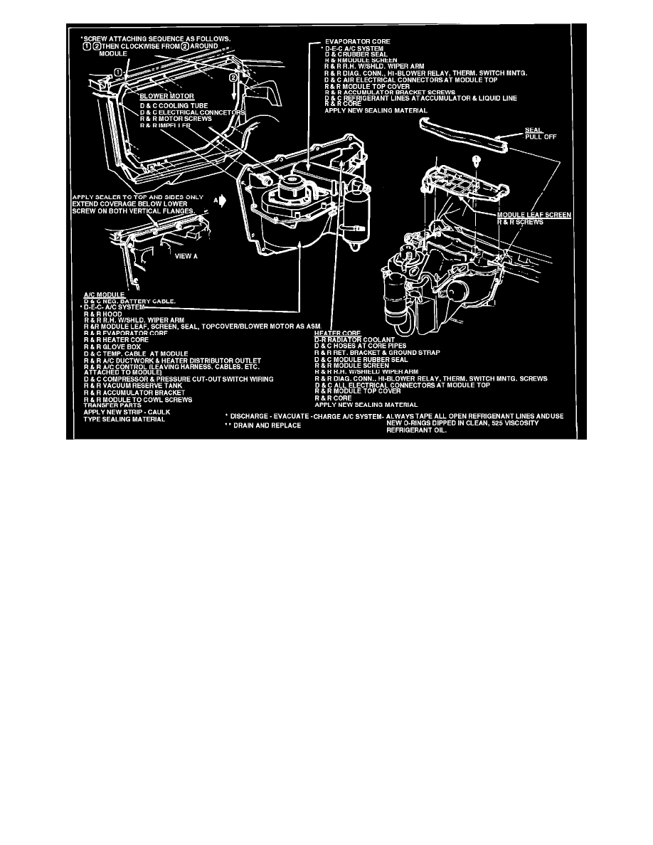 Engine, Cooling and Exhaust > Cooling System > Heater Core > Component  Information > Technical Service Bulletins > Page 1531