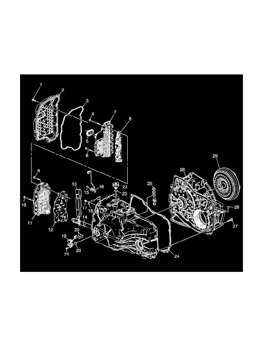 Chevrolet Workshop Manuals      Equinox    FWD V630L  2010       Transmission    and Drivetrain   Sensors